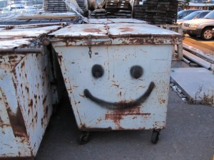 Trash being sent to an EfW facility is happy trash!